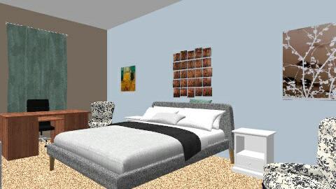 Bedroom Option 1 - Minimal - by KristinMarie9
