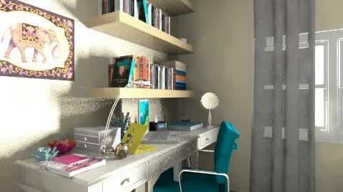 quarto - Vintage - Bedroom  - by lih_lih