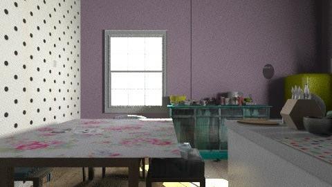 Apartment - Retro - Kitchen  - by ceala_odonovan