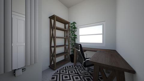 master office in closet - Office - by Mittemiller