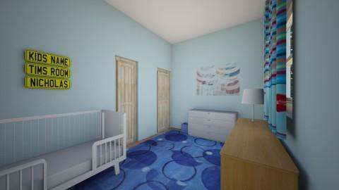 Nate_s Room000 - Kids room - by Robacki