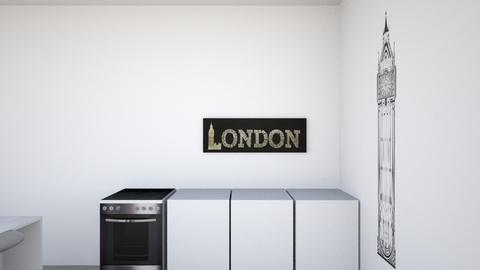 Kitchen and Dining room - Modern - Kitchen  - by RoseMachado0006