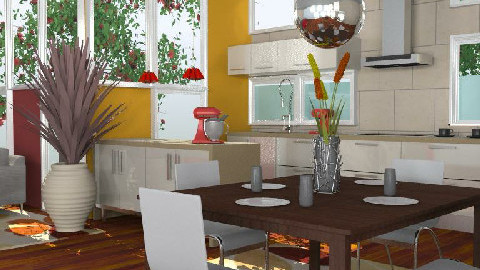 Kitchen No:3D - Eclectic - by Patrick Mallaley