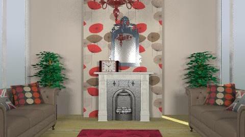 red vintage - Vintage - Living room  - by rodyr5