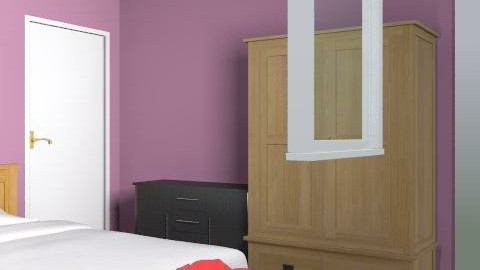 8x10bedroom - Retro - Bedroom  - by cocolgooh