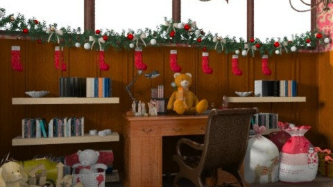 Santa's Office - Classic - by Coco_Juno