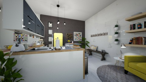 kitchen - by Katelynh