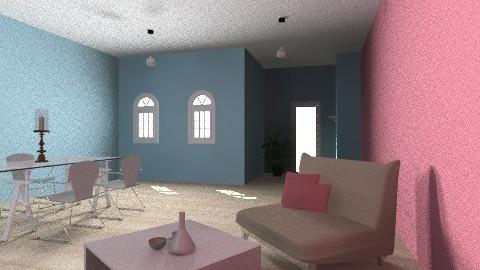 jadalnia salon - Classic - Kitchen  - by Agnieszka11