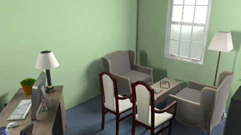 southwest side office idea - Classic - Office  - by greengaloshes