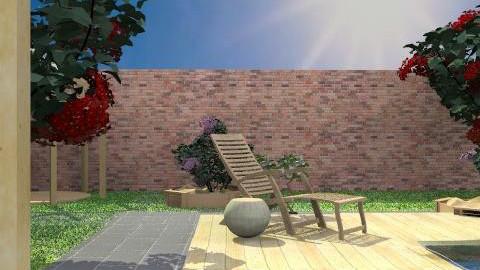 Pagoda deck - Classic - Garden  - by hunny