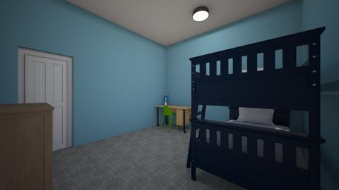 boys bedroom - Kids room  - by livblock