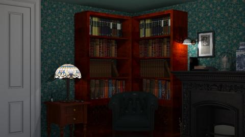 Victorian Library - Living room - by lovedae_parfait