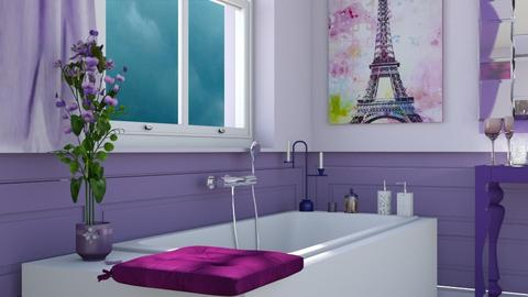 M_Lavender V - Bathroom  - by milyca8
