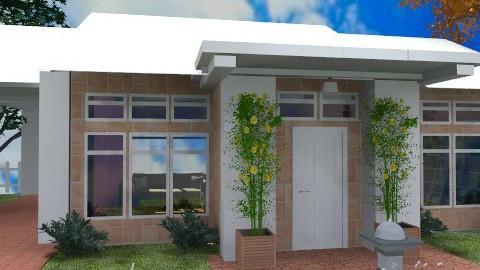 Structural House - Modern - Garden  - by Bibiche