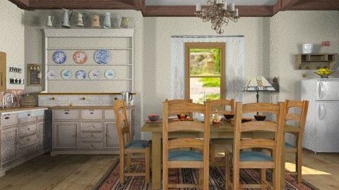 Rustic  - Rustic - Kitchen - by milyca8