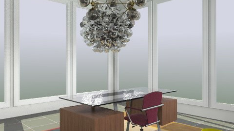 Krasner (Como Rug) - Eclectic - Office  - by tholbert