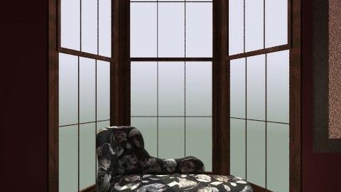 My dream room - Retro - Bedroom  - by Hernandez Natalie