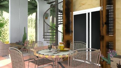 deck - Modern - Garden  - by PomBom