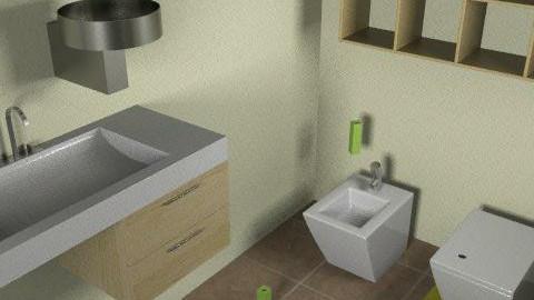 my bathroom - Glamour - Bathroom  - by lucinda_harrison