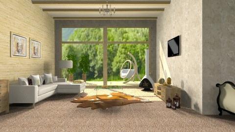 Inspiracao em madeira - Country - Living room - by susilva