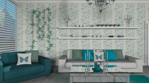 Bleu - Minimal - Living room - by deleted_1566988695_Saharasaraharas