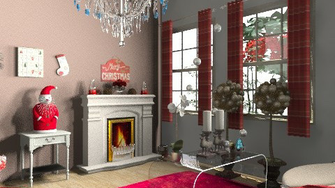 christmas - Living room - by mariannee1