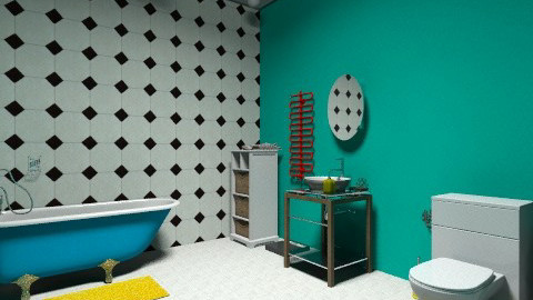 bathroom nr1 - Retro - Bathroom  - by norak