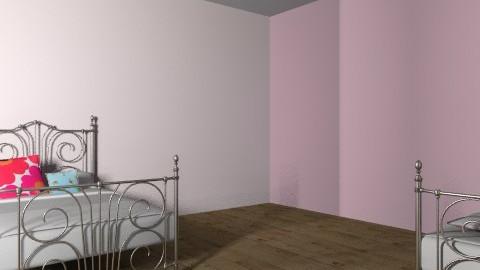 Twins Bedroom - Vintage - Bedroom  - by FN27622