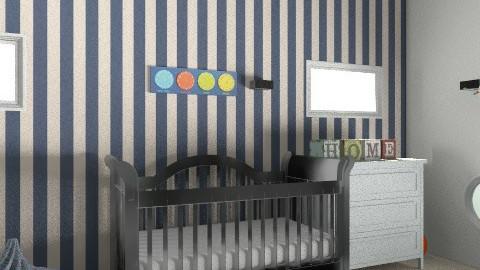 baby room - Modern - Kids room  - by samaara_abb