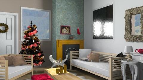 Happy Christmas !!! - Rustic - Living room - by sahfs
