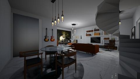 Billionaires sanctum - Living room  - by Charlotte Aliceee