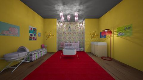 Nursery_Baby Girl - Feminine - Kids room  - by srmagi