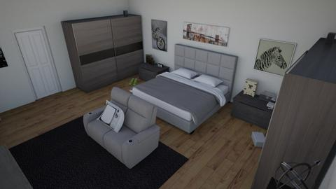 Adrian - Modern - Bedroom  - by Axel Rodriguez