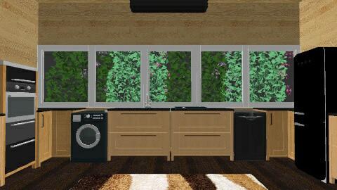 My kitchen - Modern - Kitchen  - by GRgeoGR