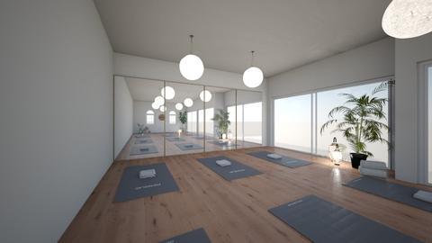 Yoga Room - Modern - by CloneAMA