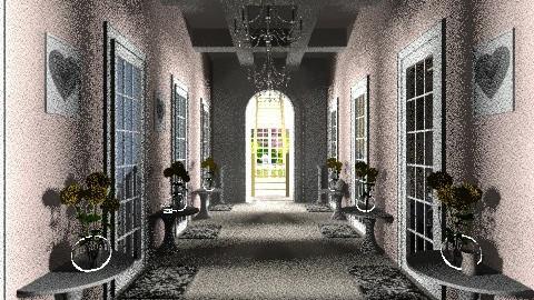 Hallway - Vintage - by ZolaDecor