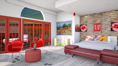 Poppy bedroom - by Nari31