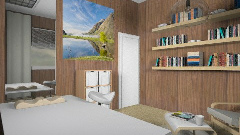 Spa and Reading Room - Modern - Office  - by chania