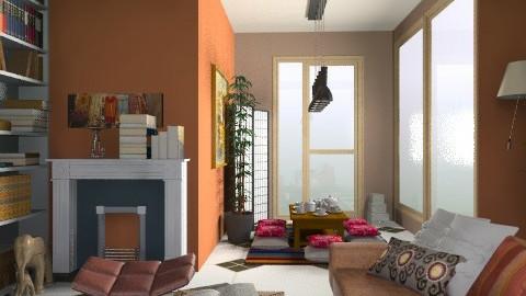 Oriental. Inspired. - Rustic - Office  - by sahfs