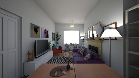 19 Grand Canal View - Living room  - by idontdobeige