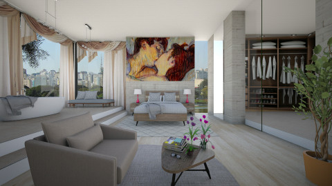 Vanguard - Bedroom  - by Sanare Sousa