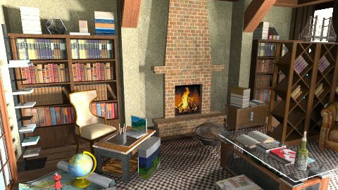 Londin SH 2013 - Classic - Living room  - by loretasofia