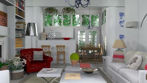 Du house - Eclectic - Living room  - by du321