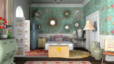 bohemia - Vintage - Bedroom  - by The_Hunter_and_Gatherer