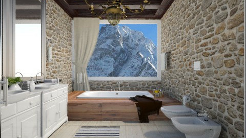 Mountain Bathroom - Bathroom  - by keila_freitas