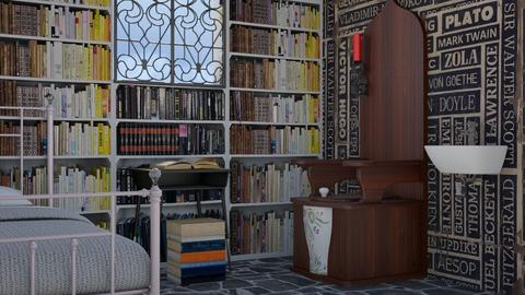 A Presidential Nightmare - Eclectic - Bedroom - by Theadora