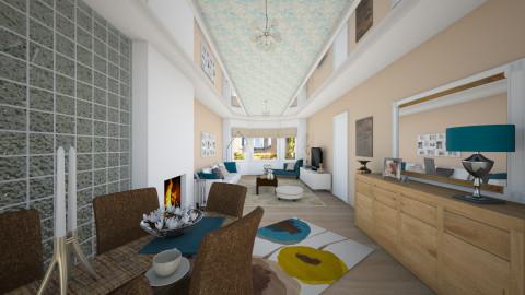 woonkamer bwb - Modern - Living room - by Senia N
