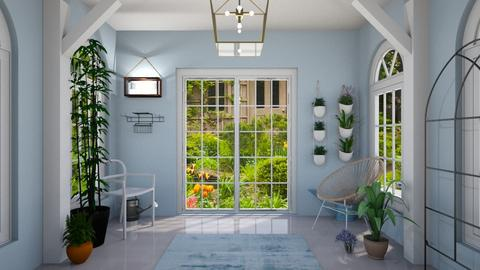 Sunroom - Country - Garden - by 2008665
