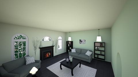 Symmetrical design - Modern - Living room  - by bakerashley9988