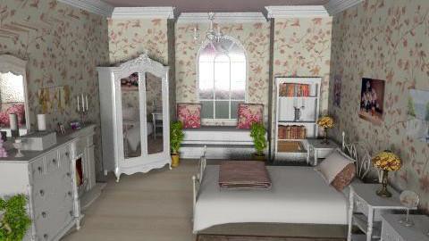 victorian - Classic - Bedroom  - by Bibiche